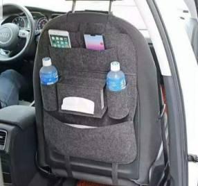 Organizador para asiento trasero de coche