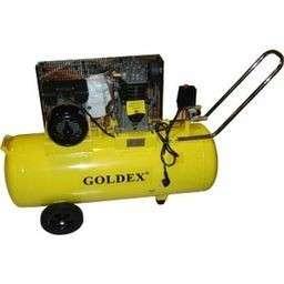 Compresor 24L 2 hp monofásico Goldex - 0