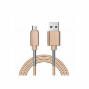 Cable kolke usb am a micro usb dorado kcc-1377 (10100)