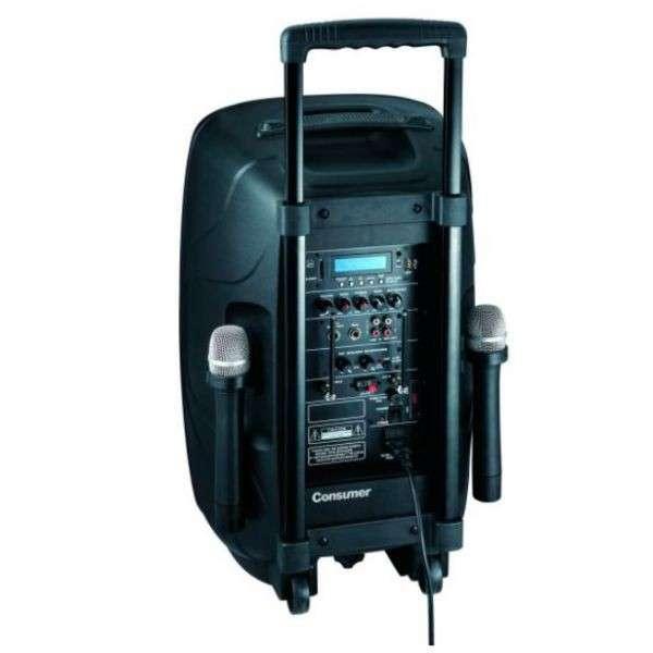 Speaker Box con pedestal - 1