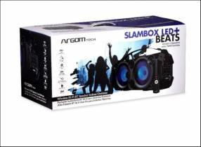 Slambox LED plus beats altavoz inalámbrico BT