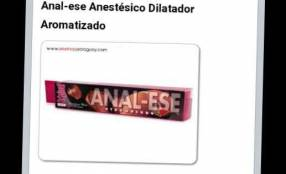 Anal-ese anestésico dilatador