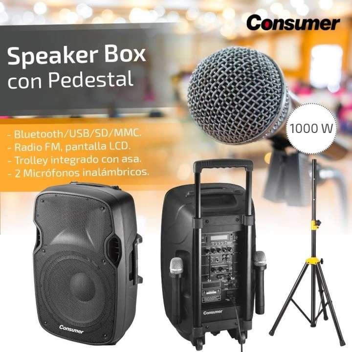 Speaker Box con pedestal - 3