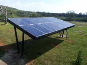 Paneles solares integrados para 220V