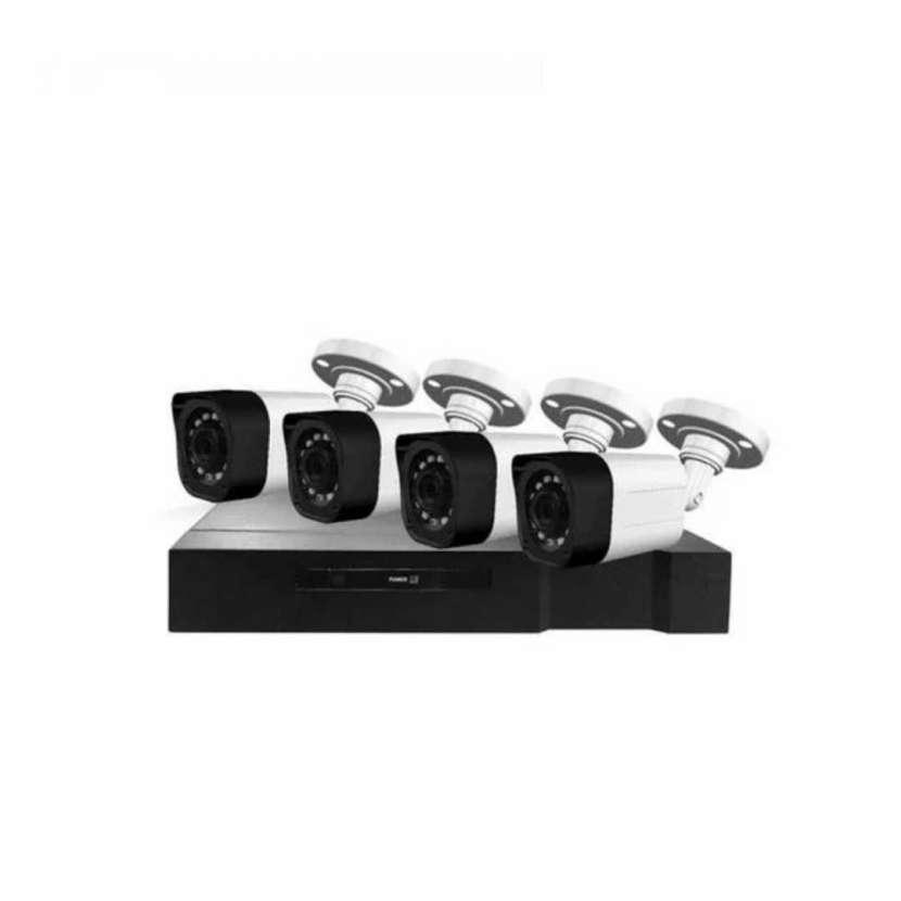 Kit de seguridad 8 canales 2.0mp full hd 1080n kuk-402 (10109) - 0