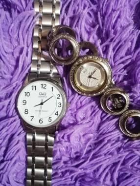 Relojes Q&Q para dama y caballero