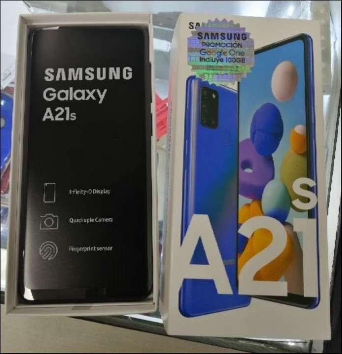 Samsung Galaxy A21s de 128 gb nuevo - 0