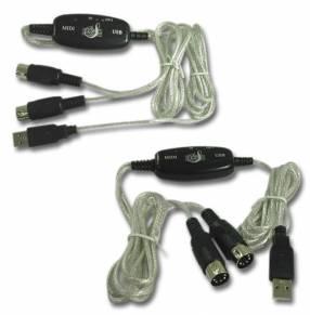 Cable MIDI USB