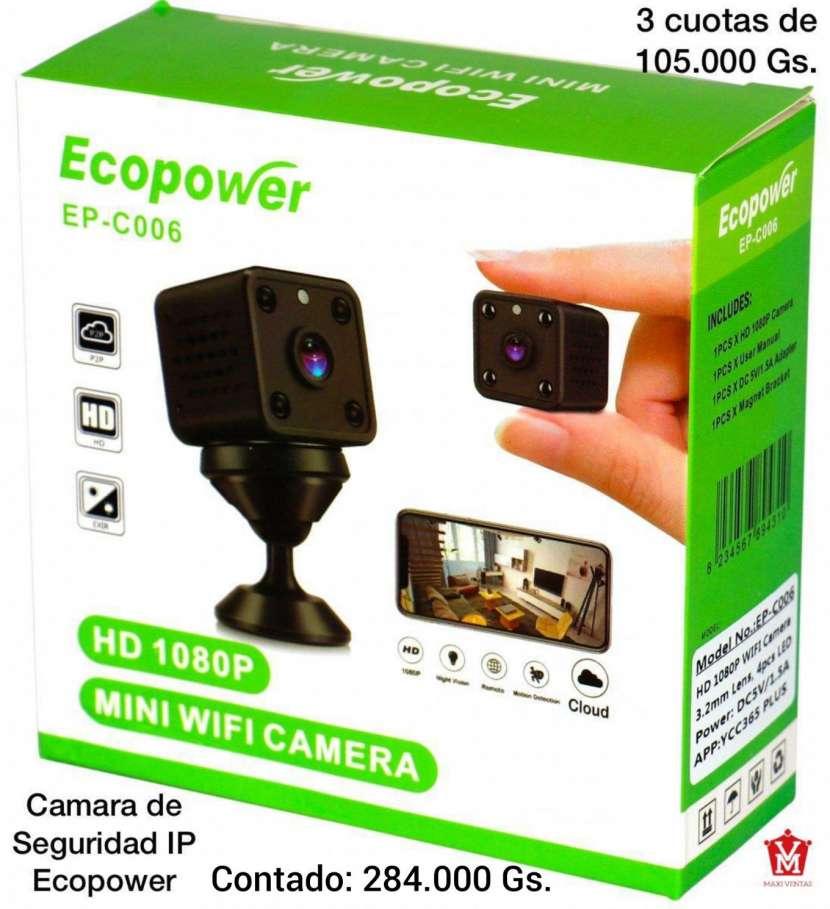 Cámara de seguridad IP ecopower - 0
