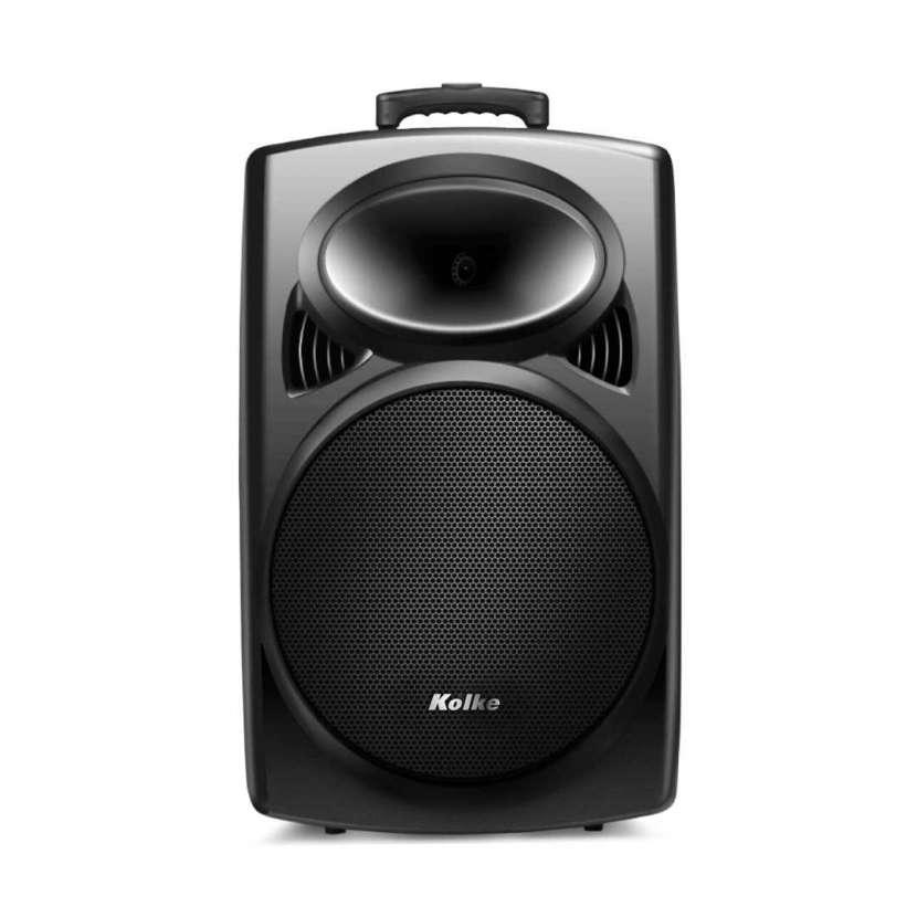 Parlante kolke rhytm 12¨tws con batería +micrófono kpb-422 (10153) - 0