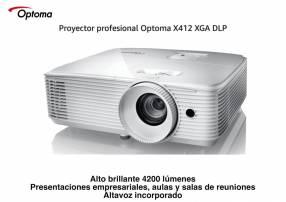 Proyector Optoma X412 4200 lúmenes XGA