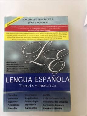 Libro de lengua española