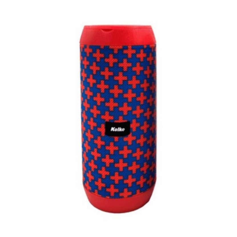 Parlante kolke look bt 5.0 kpm-438 azul/rojo (10150) - 0