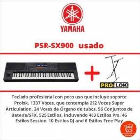 Yamaha PSR-SX900 con soporte Prolok