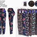 Pantalón frizado floreado - 0