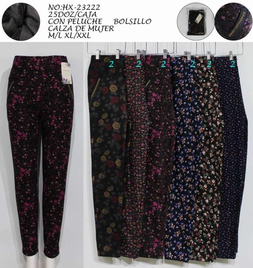 Pantalón frizado floreado LIN LUNHX23222 - 0