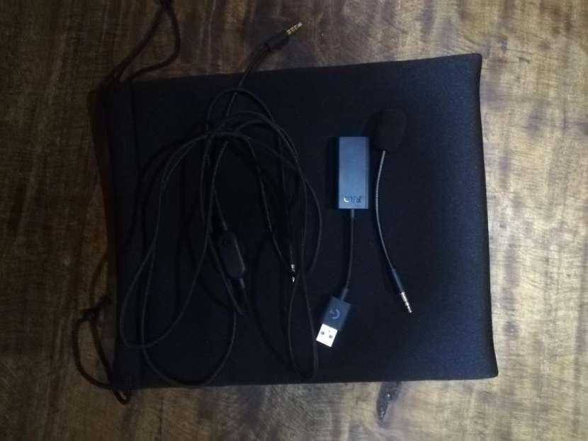 Auricular Logitech Pro X - 0