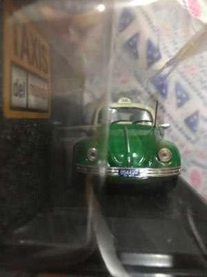 Fusca Volkswagen del 85 color verde - 1