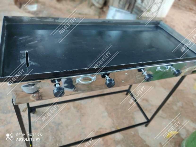 Fabricamos planchas hamburgueseras cocinas industriales topinera - 4