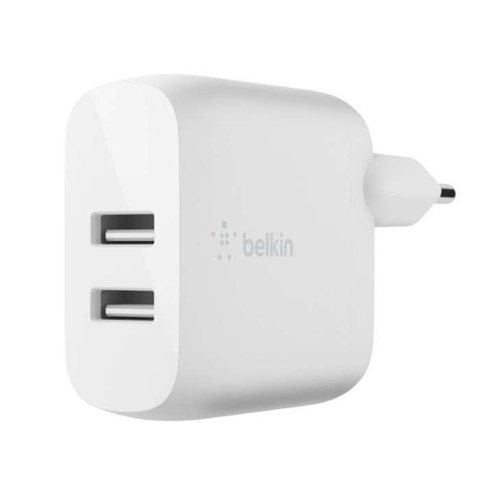 Cargador Belkin dual USB-A 24W ACBLK54 - 0