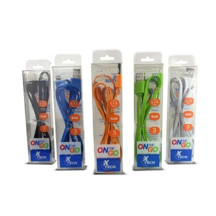 Pack 10 cable micro-USB XTG-211 1M XTECH - 0