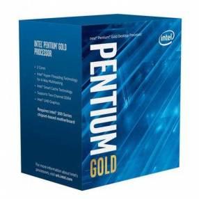 Procesador Intel Pentium Gold G6400 4.0GHz LGA 1200 4MB