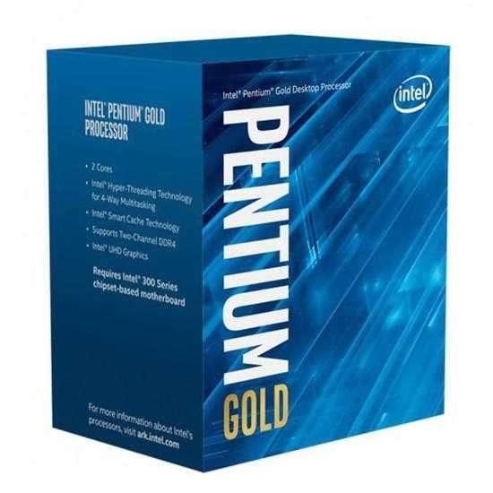 Procesador Intel Pentium Gold G6400 4.0GHz LGA 1200 4MB - 0