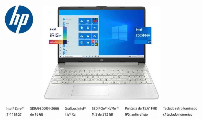 Notebook HP Intel Core i7 RAM 16GB 512SSD - 0