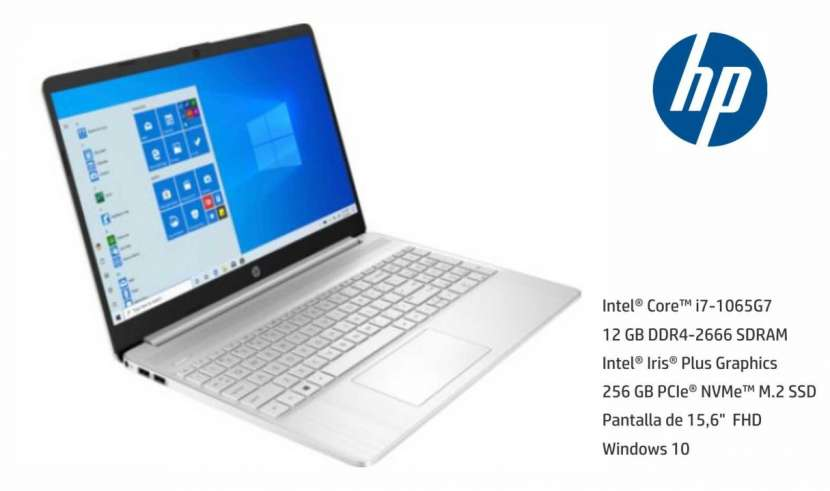 Notebook HP Intel Core i7 RAM 12GB - 0