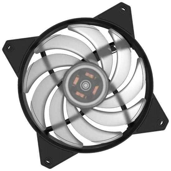 Cooler para gabinete Cooler Master Masterfan MF120R RGB 120M - 0