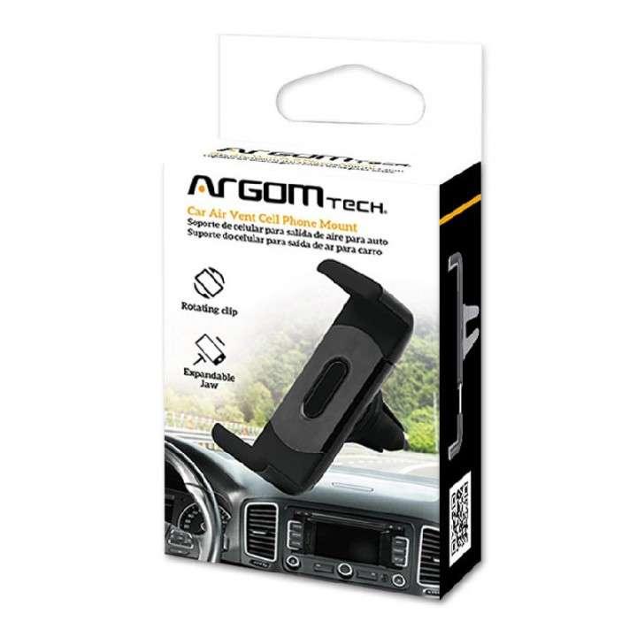 Soporte Argom ARG-AC-0327BK para celular auto - 0
