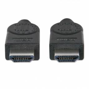Cable HDMI-HDMI M/M 308434 15MTS 4K/3D/30HZ Manhattan