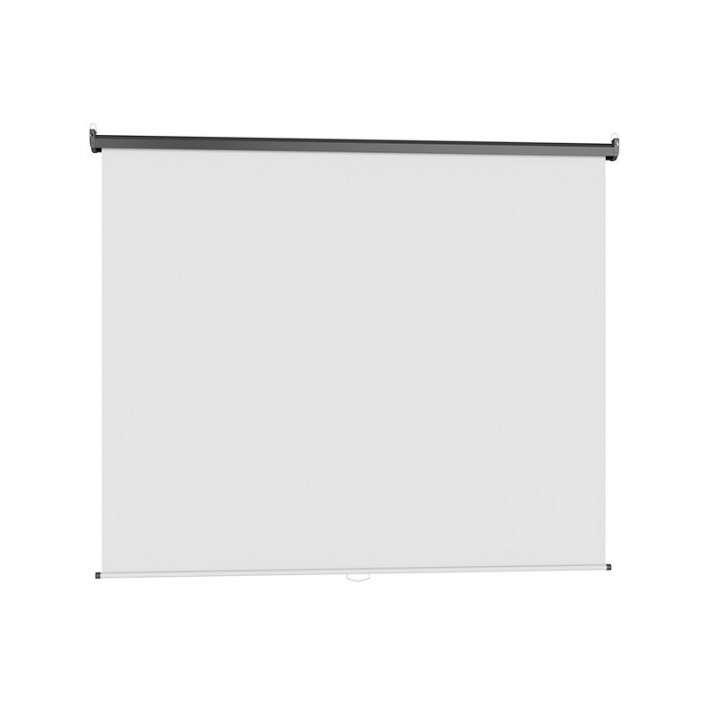 Pantalla proyector Klip 100 pulgadas KPS-313 16:9 manual blanco techo pared - 0