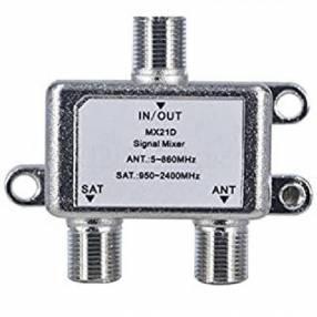 Receptor de señal LNB para antena 2 bocas salida 950-2150MHz
