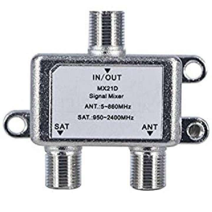 Receptor de señal LNB para antena 2 bocas salida 950-2150MHz - 0