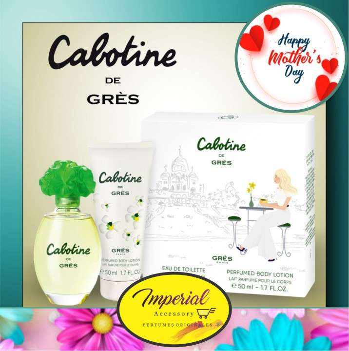 Perfume Cabotine de Gres + Crema Cabotine 50 ml - 0