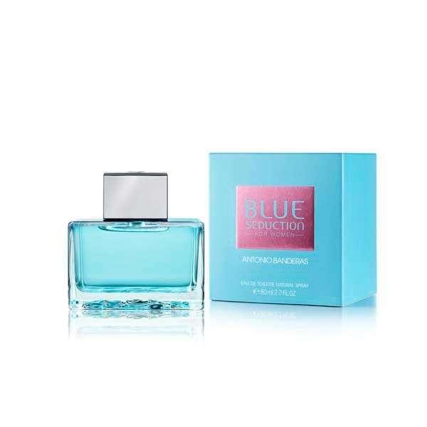 Antonio Banderas Blue Seduction EDT femenino 80 ml - 0