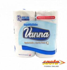 Papel higiénico texturado Vanna