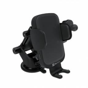 Soporte para celular Klip KMA-610 Residemar para auto cara inalámbrica