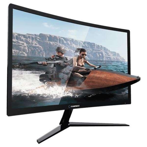 Monitor gamer 24 pulgadas GAMEMAX Curvo FHD 144HZ 1MS - 0