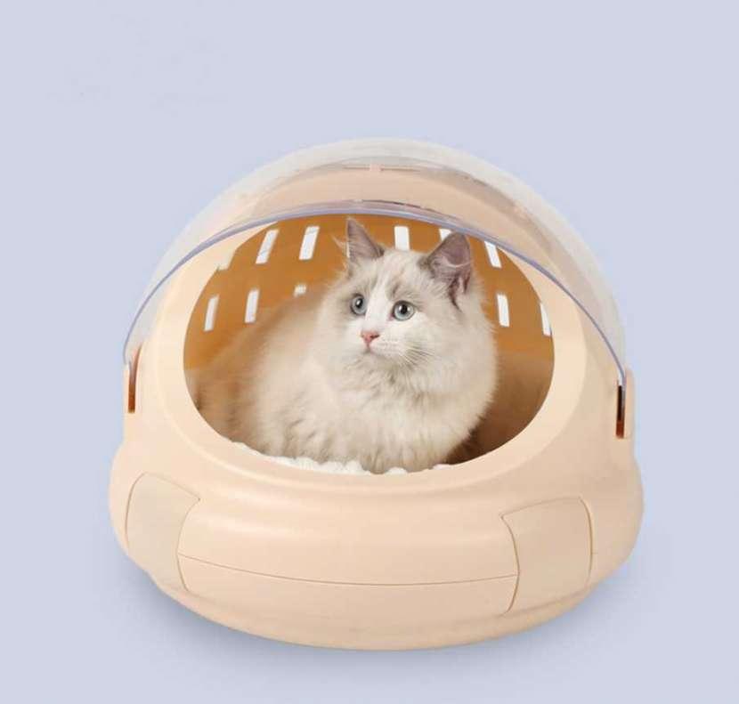 Jaula para Mascotas en formato de Capsula Espacial - 0