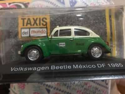 Fusca Volkswagen del 85 color verde - 0
