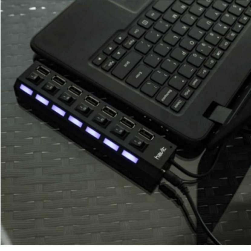 Hub usb 2.0 de 7 puertos h900c (50038) - 0