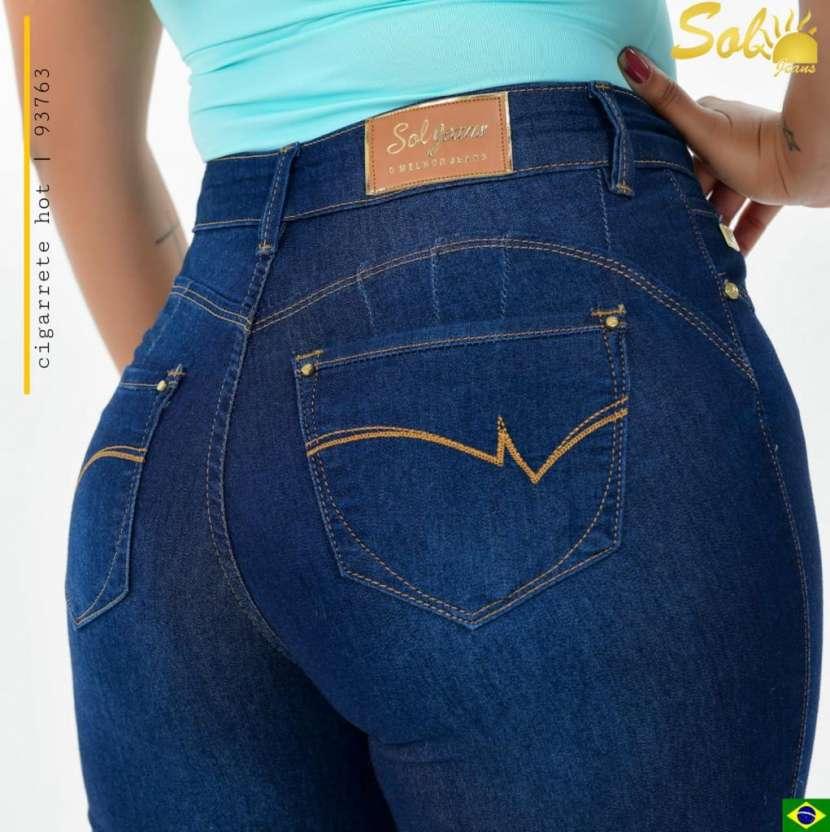 Sol Jeans con bordados - 2