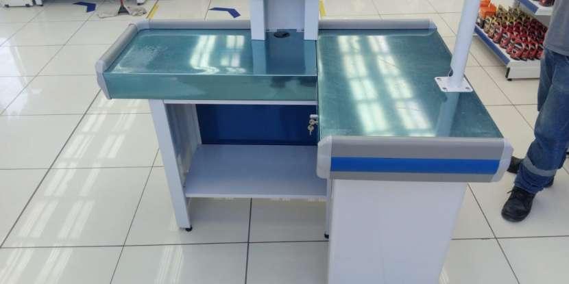 Mesa para cajera metal Refrimate 150 cm x 100 cm - 0