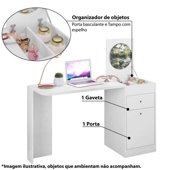 Tocador escritorio camarin bancada Deseo Movelmax - 2