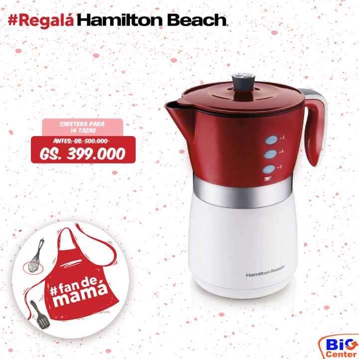 Cafetera Hamilton Beach - 0