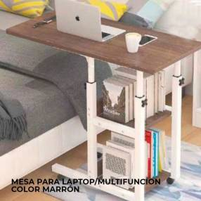 Mesa para laptop multifunción marrón Kolke
