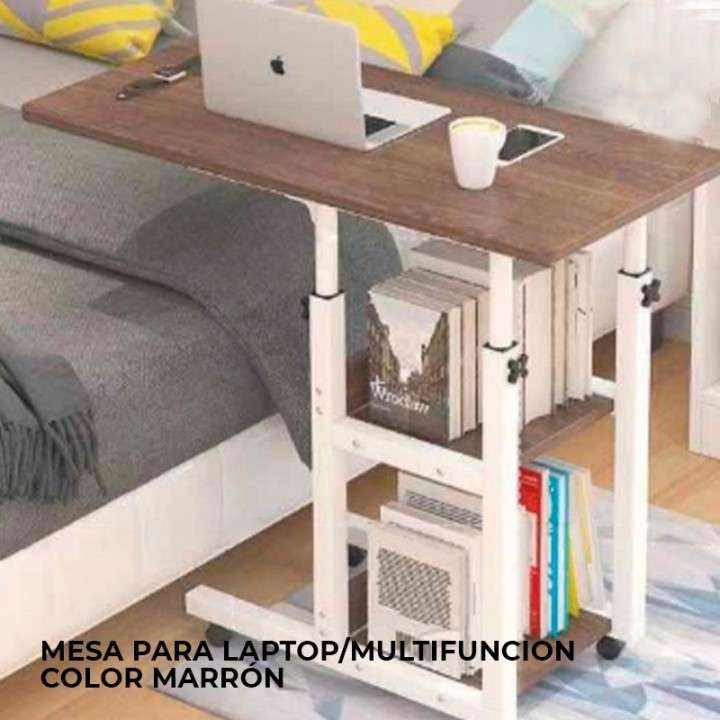 Mesa para laptop multifunción marrón Kolke - 0