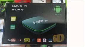 Tv box R69 Android 10.1 ram 16 gb 128gb rom